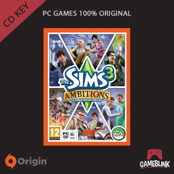 harga [pc games original] the sims 3: ambitions dlc cd key origin Tokopedia.com