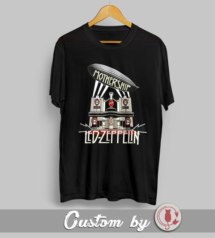 harga Baju kaos rock band led zepplin 002 catoon dtg printing Tokopedia.com
