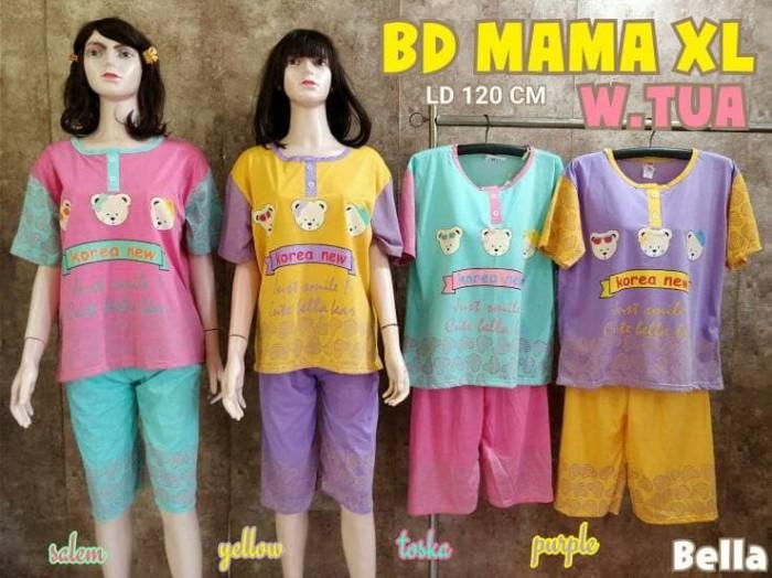 harga Babydoll baju tidur mama xl warna tua bear korea Tokopedia.com