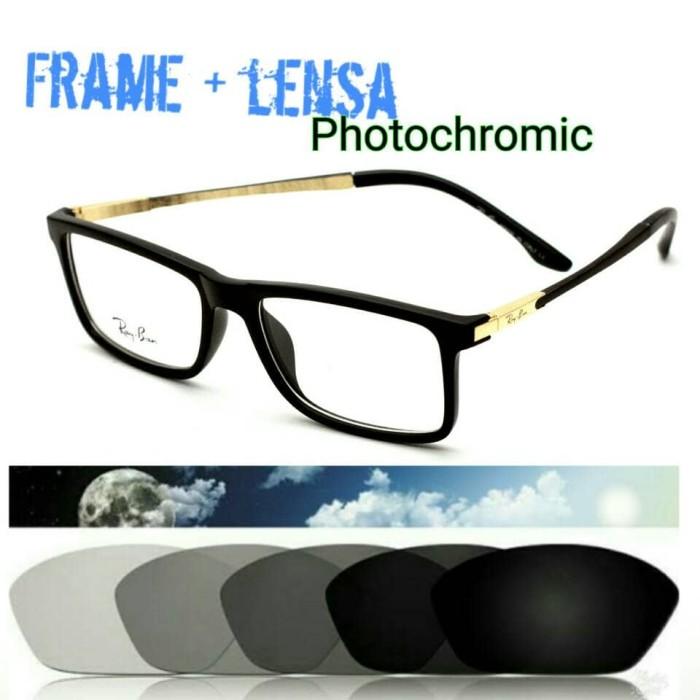 Jual Kacamata Photochromic Casual Frame Kacamata Baca Paket Lensa ... 071f0cc405