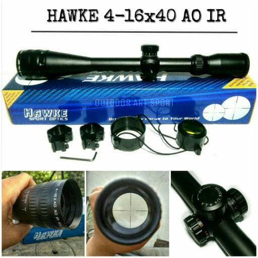 harga Hawke 4-16x40 ao ir / scope hawke / telescope hawke / teleskop hawke Tokopedia.com