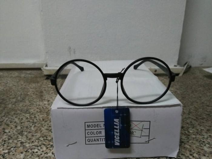 Promo kacamata korea murah kacamata bulat hitam hit dan trendy dcce5b9521