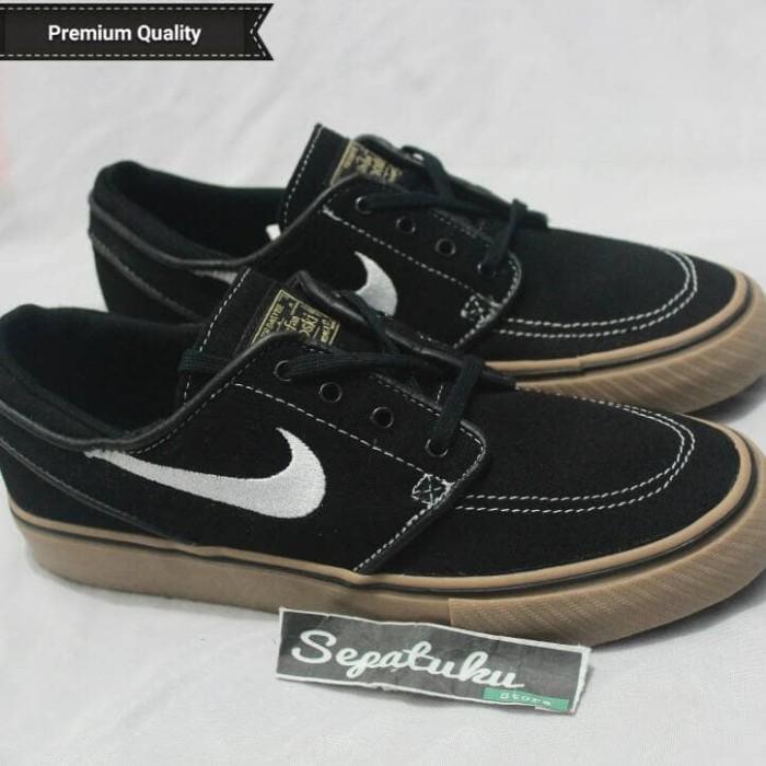 f506c1685c6a ... harga Sepatu nike sb zoom stefan janoski black gum - premium quality  Tokopedia.com