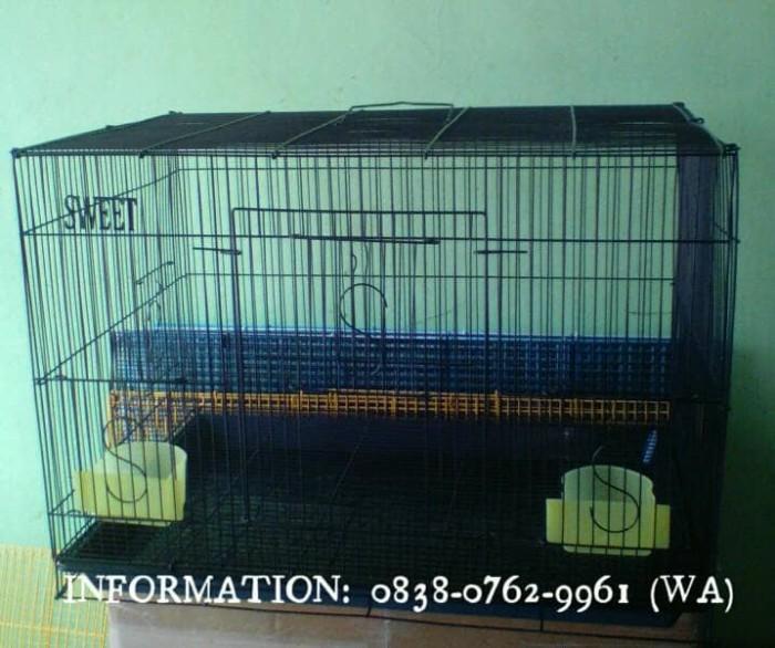 harga Kandang Besi Lipat Besar Sweet U/ Kucing/kelinci/burung/ayam Hias Dll Tokopedia.com