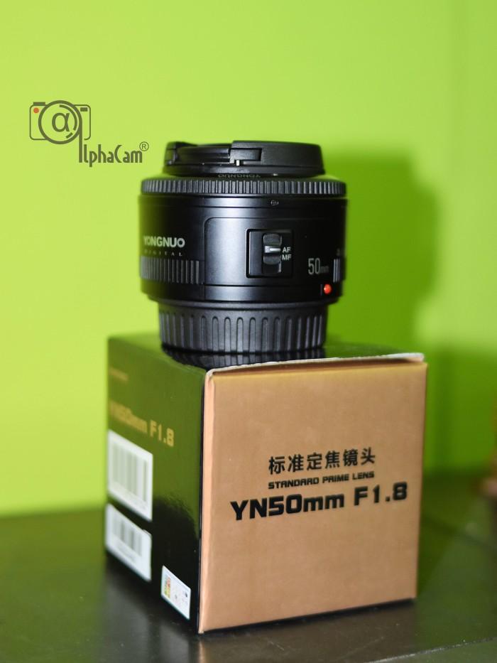 harga Lensa yongnuo fix 50mm f1.8 untuk canon sidoarjo Tokopedia.com