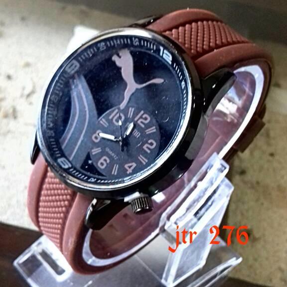 jam tangan puma / jtr 276 coklat Murah Grosir Kekinian
