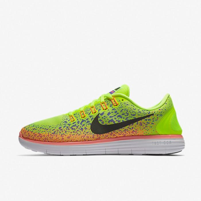 hot sale online f3815 80551 Sepatu Lari Nike Free RN Distance Yellow Original 827115-700