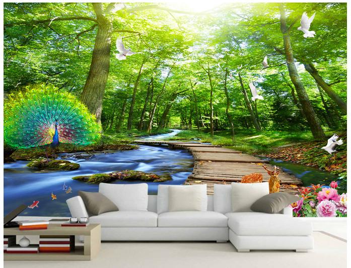 Jual Pemandangan 3d Wallpaper 1209171 Kab Tangerang Honey3dwallpaper Tokopedia