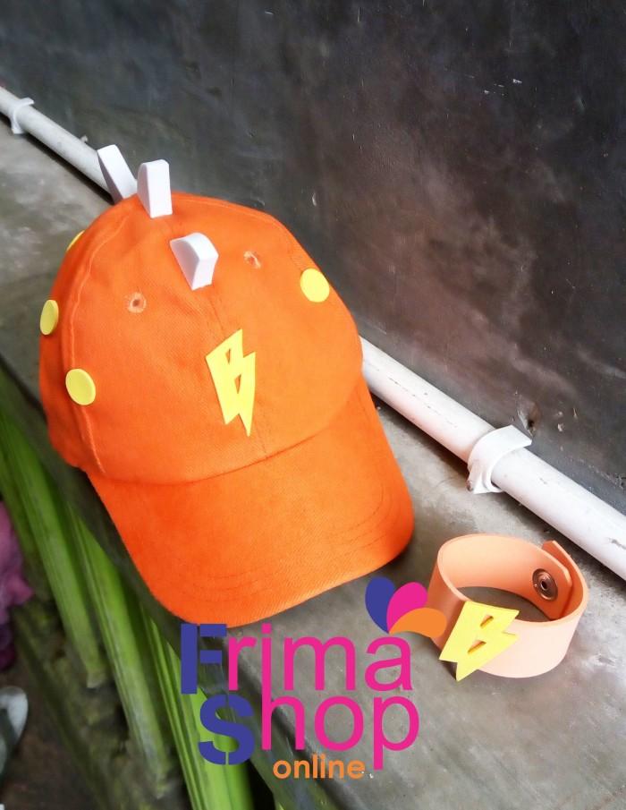 harga Topi boboiboy galaxy orange + gelang Tokopedia.com