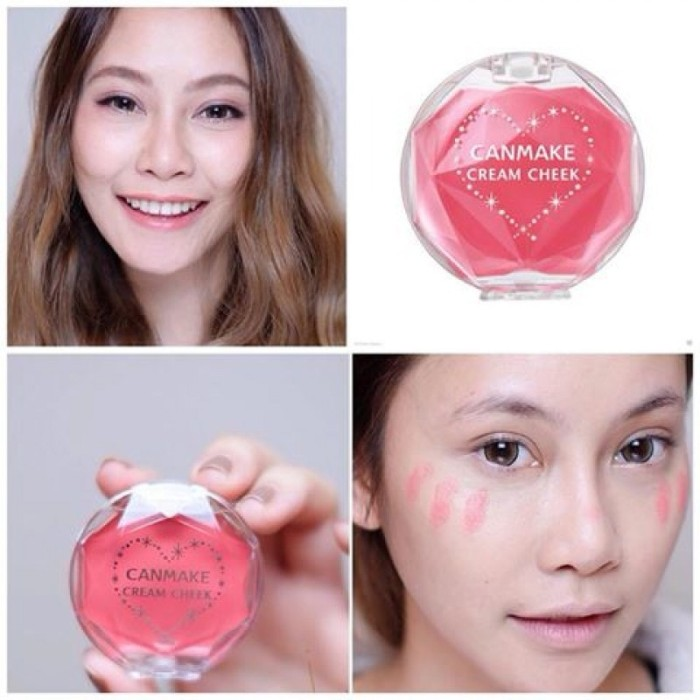 Cream Cheek Products canmake com Source · CANMAKE Cream Cheek & 40 07 Coral