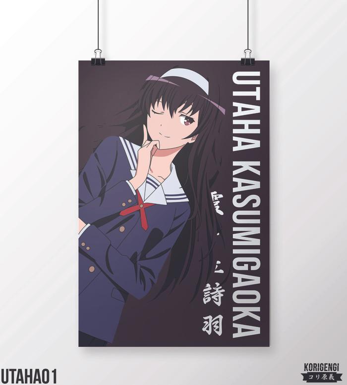 Foto Produk Poster Utaha Kasumigaoka A3+ dari KORIGENGI Store