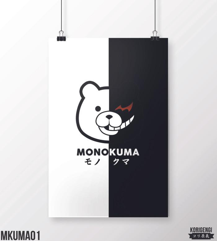 Foto Produk Poster Monokuma A3+ dari KORIGENGI Store