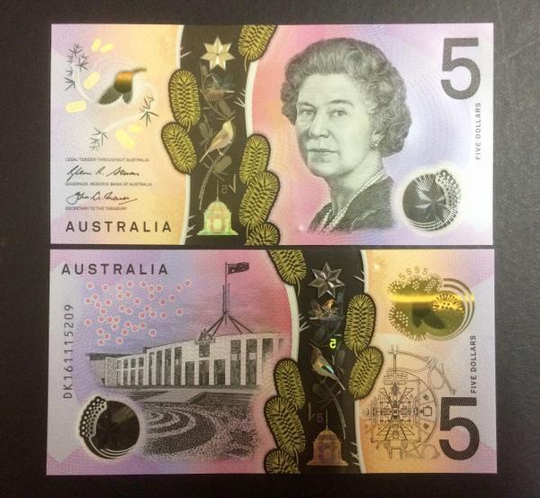 harga Uang asing polymer  5$ australia 2016 Tokopedia.com