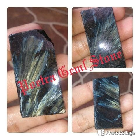 harga Bahan / rough natural pietersite quartz / bulu macan / bulu merak Tokopedia.com