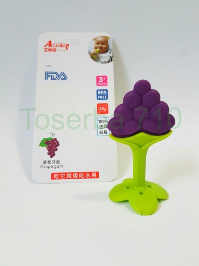 Teether grape- gigitan bayi grape