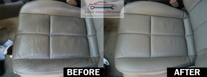 harga Pembersih jok kulit mobil & penghilang noda - waxco leather shine 125 Tokopedia.com