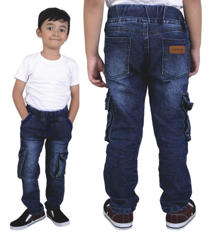 harga Cnjbgi celana jeans pdl anak laki-laki/cowok tali+karet Tokopedia.com