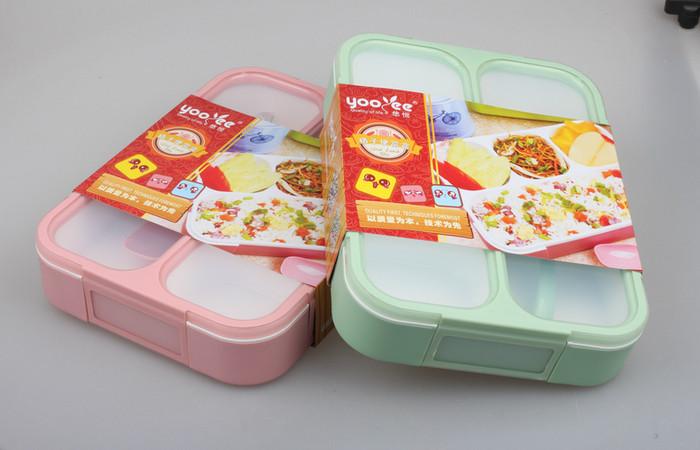 578 new lunch box kotak makan yooyee bento kotak bekal anti bocor bpa