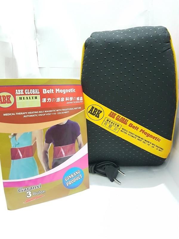 Bantal panas sauna belt ABK Besar / Sabuk panas perut / Magnetic KSS