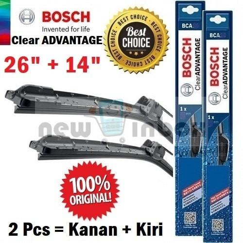 harga Wiper mobil honda new jazz ge8 - sepasang- bosch clear advantage 26/14 Tokopedia.com
