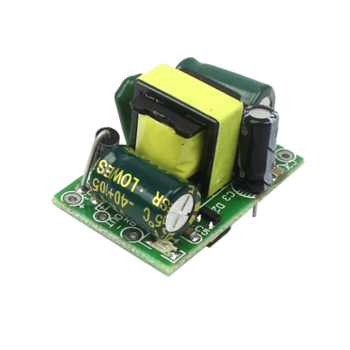 Foto Produk AC-DC 5V 700mA 3.5W Power Supply Buck Converter Step Down 220v to 5v dari Global Piranti