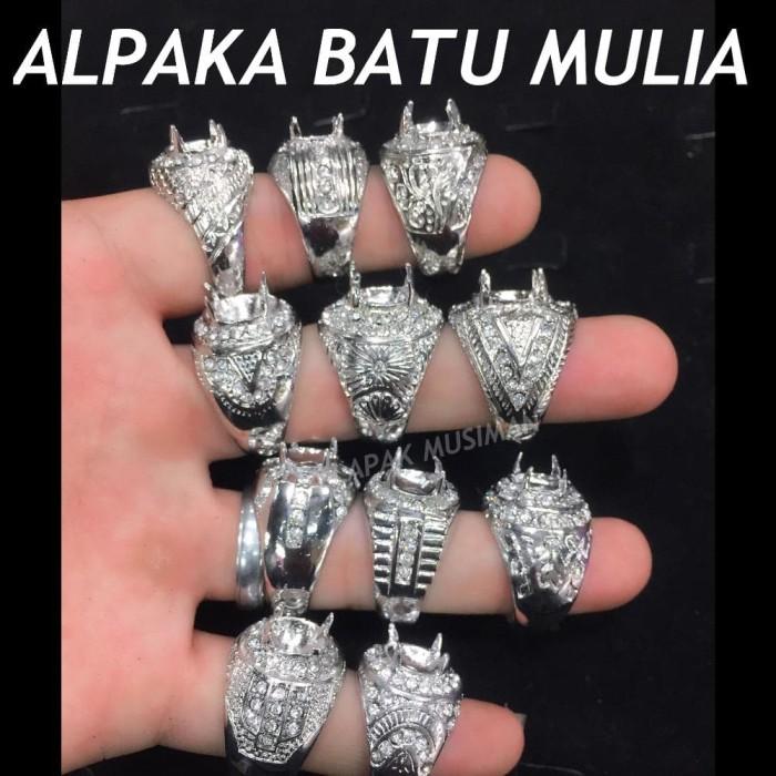 harga Alpaka Mangkok Batu Kalimaya Black Opal Tokopedia.com