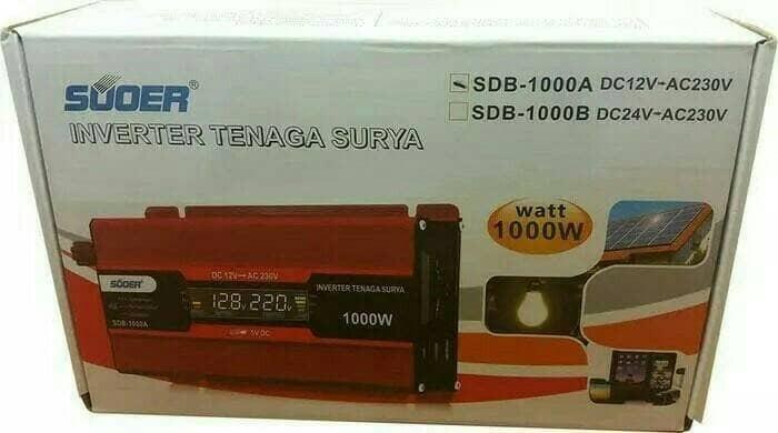 harga Inverter suoer 1000w sdb-1000a with lcd display Tokopedia.com
