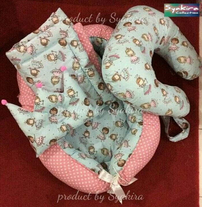 harga Set baby nest+bed cover+bantal menyusui Tokopedia.com