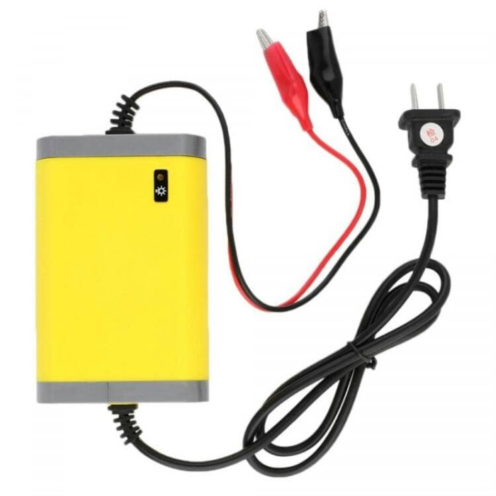 harga Charger accu motor mobil portable battery charger aki 12v/2a Tokopedia.com