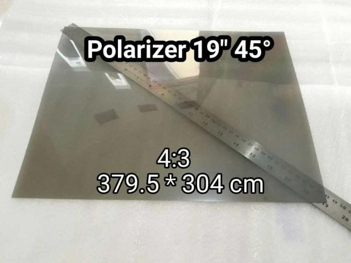 harga Polarizer 19inch 45 derajat lcd polarized polarizing film for monitor Tokopedia.com