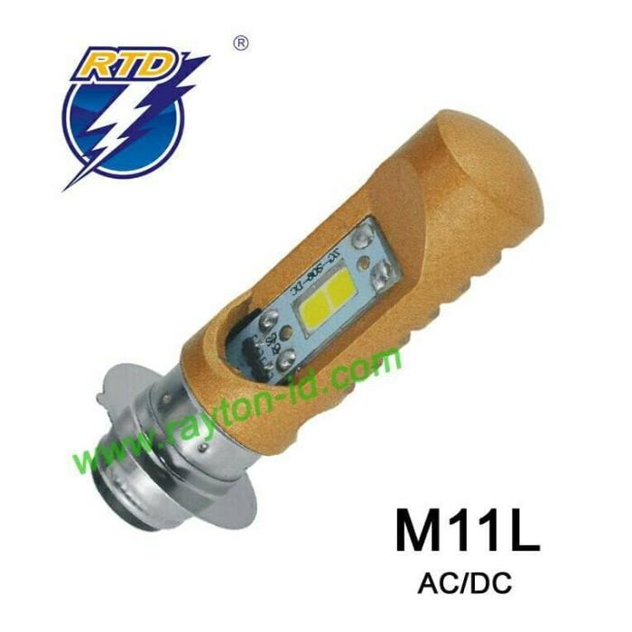 harga Lampu headlamp led rtd m11l (h6) soul gt / scoopy / fino / vario 125 Tokopedia.com