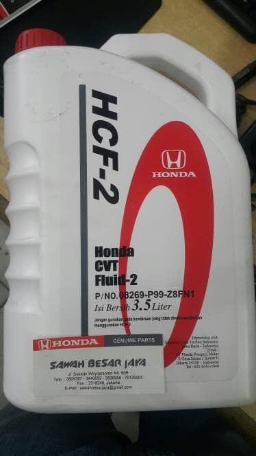 harga Oli transmisi hcf - 2 / honda cvt fluid Tokopedia.com