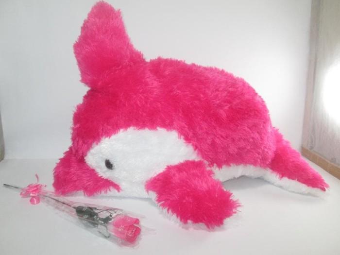 Jual Boneka Dolphin Warna Lucu - Boneka Lumba-Lumba Ukuran 55CM ... d22e16751d