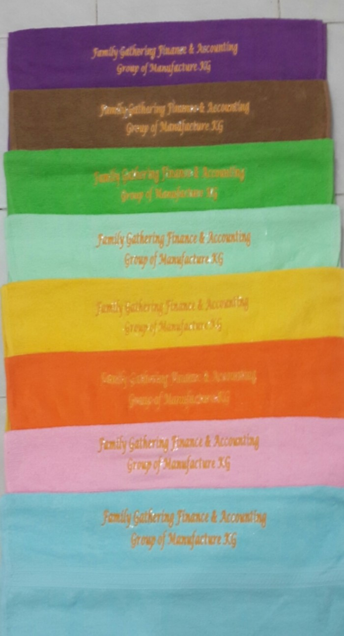 harga Handuk mandi anak traveling uk 50x100 bordir tulisan Tokopedia.com
