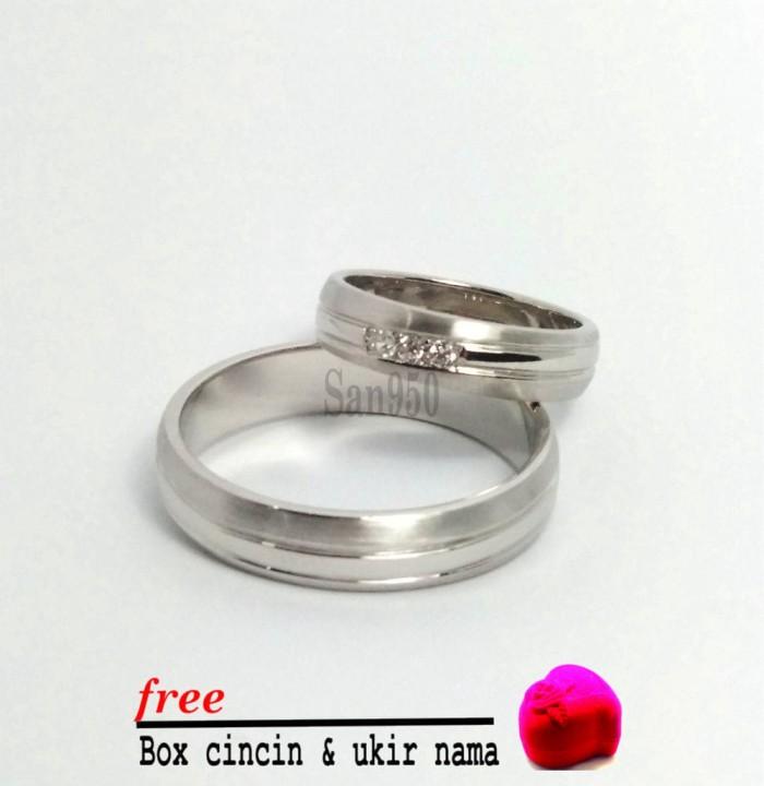 cincin kawin couple perak R4377