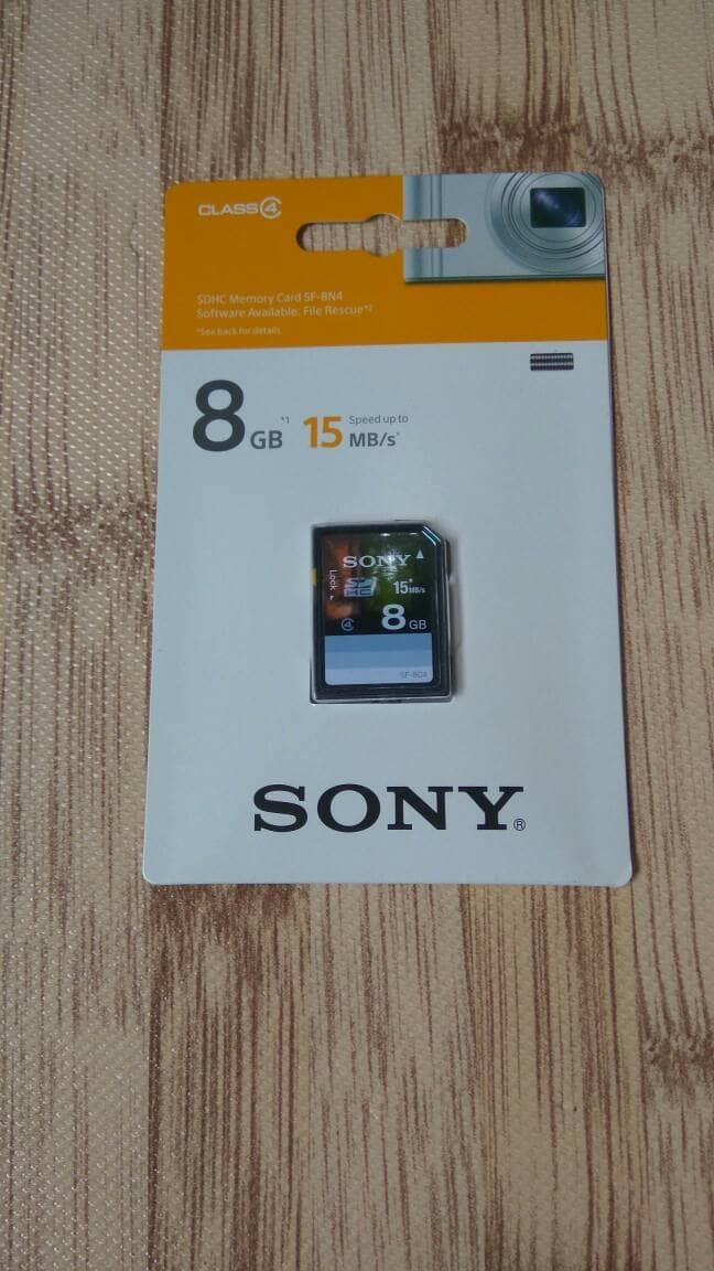 harga Memory Card Sdhc Sony 8gb/15mb (original) Tokopedia.com