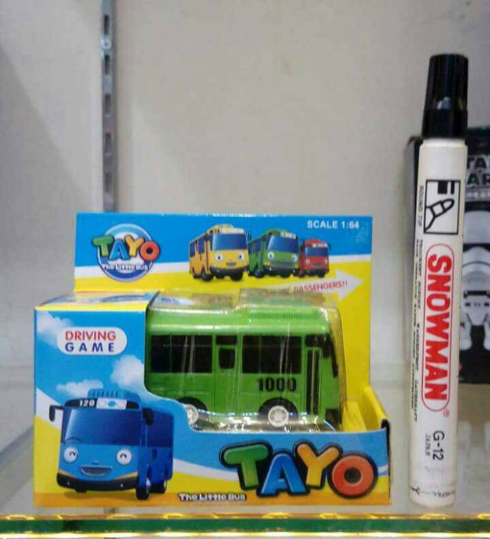 Jual Sale The Little Bus Tayo Driving Game Tayo Hijau Skala 1 64 Kota Bandung Itoys Baltos Tokopedia