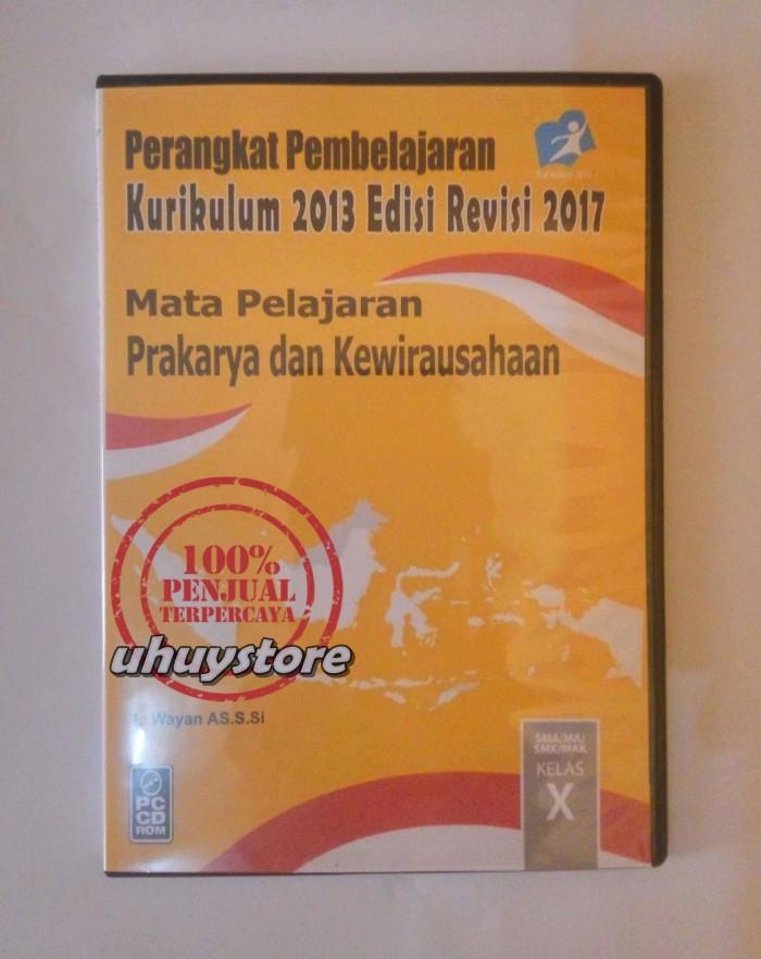 Jual Cd Rpp Prakarya Kurikulum 2013 Revisi 2016 Untuk Sma Smk Kelas 10 X Kota Tasikmalaya Uhuy Market Tokopedia