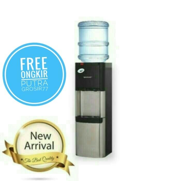 harga Sharp dispenser swd-t92es-bk galon atas Tokopedia.com