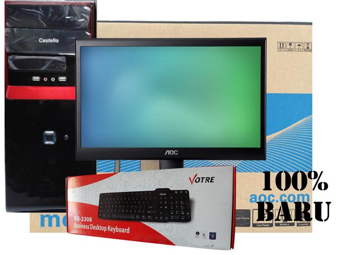 harga Cpu core i3-540 + led aoc 19 Tokopedia.com