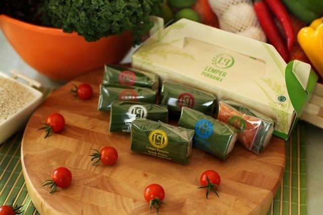 harga 6pcs lemper purnama bandung jajanan pasar kue basah tradisional ayam Tokopedia.com