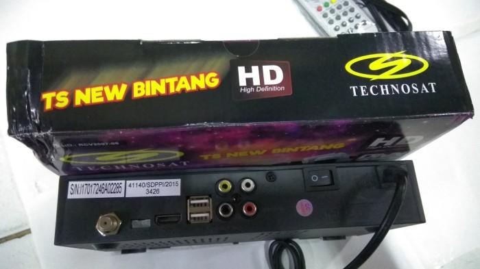 Jual RECEIVER PARABOLA / RCV TECHNOSAT BINTANG - Jakarta Pusat - etronik |  Tokopedia