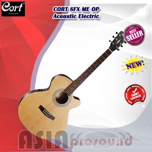 harga Gitar akustik elektrik cort sfx me op / sfxmeop / sfx-me-op Tokopedia.com
