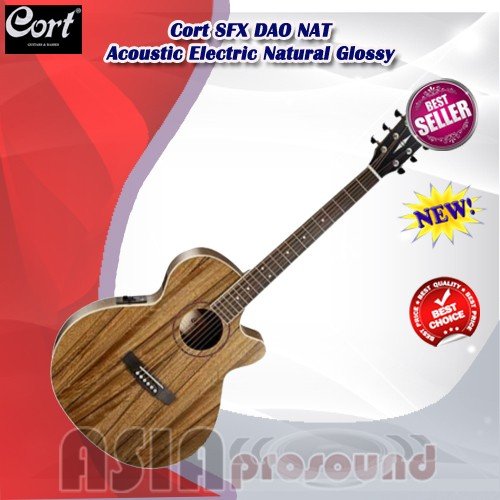 harga Gitar akustik elektrik cort sfx dao nat natural glossy Tokopedia.com