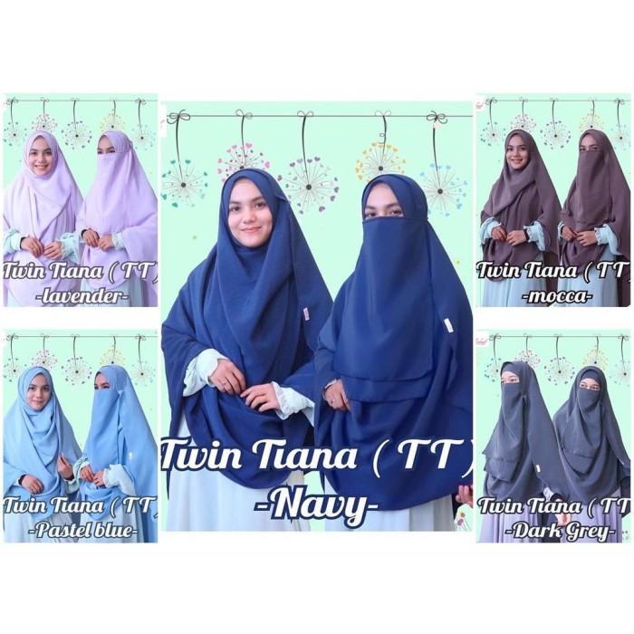 ... Promo Khimar Bergo Instan Jilbab Kerudung Hijab Nonpet Gliter - tukiyem13. Source · Jilbab Instan Pashmina Instan Twin Tiana Syari FREE CADAR
