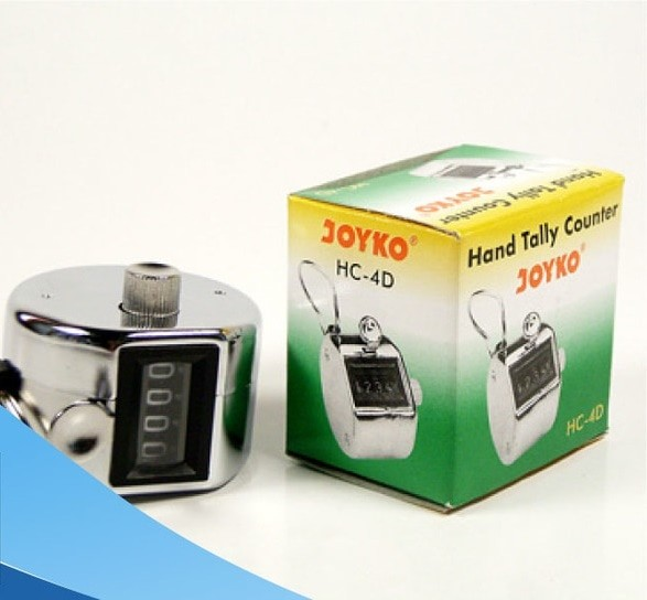 harga Joyko hand tally counter hc - 4d alat hitung cepat 4 digit checker Tokopedia.com