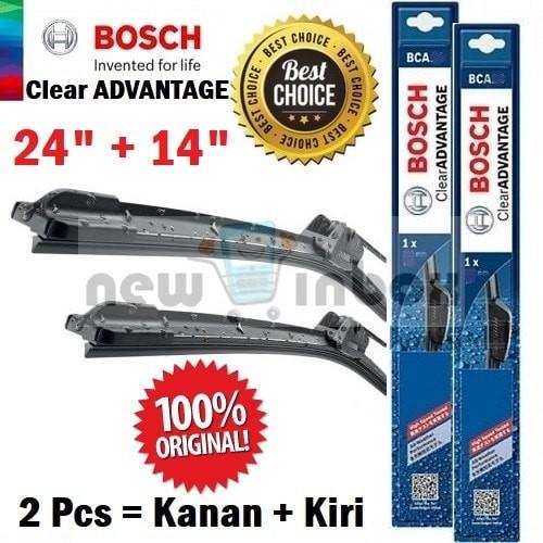 harga Wiper mobil toyota ist - sepasang depan - bosch clear advantage 24/14 Tokopedia.com