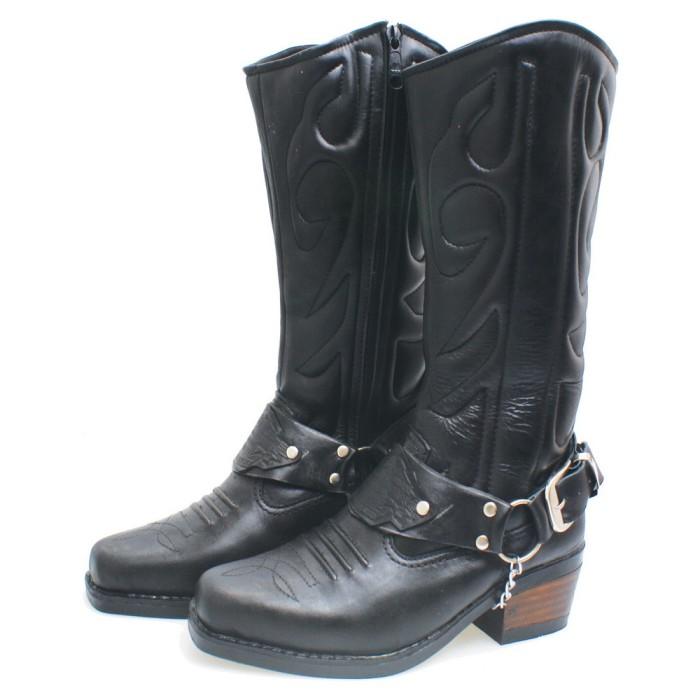 harga Kulit asli - sepatu touring motor bikers moge / sepatu boots pria bsm Tokopedia.com