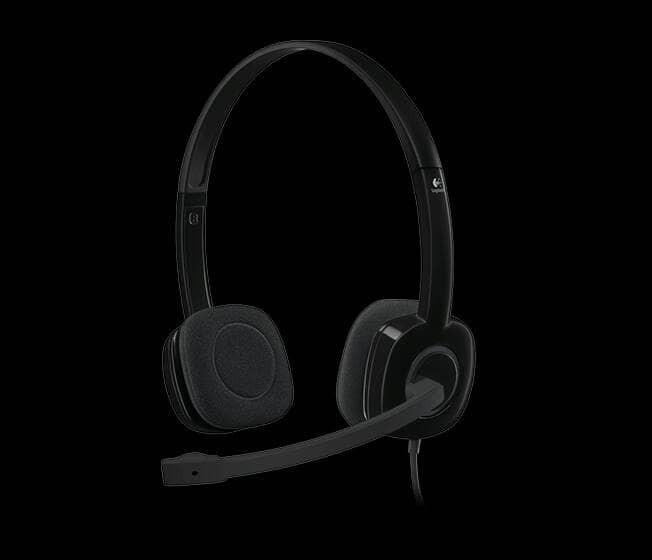 Logitech h151 garansi resmi stereo headset h 151 murah