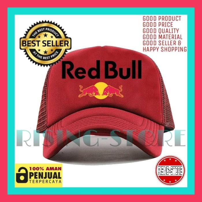 bf7e226a Jual TOPI TRUCKER JARING RED BULL - Dipilihaja-shop - Kota ...